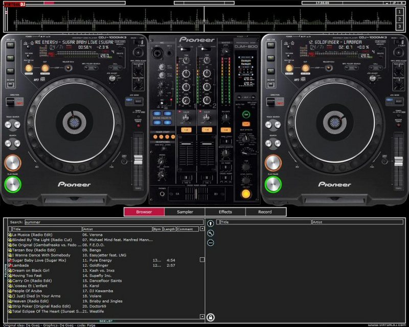 virtual dj 8 pro full download with crack+all new skin - Apan Archeo
